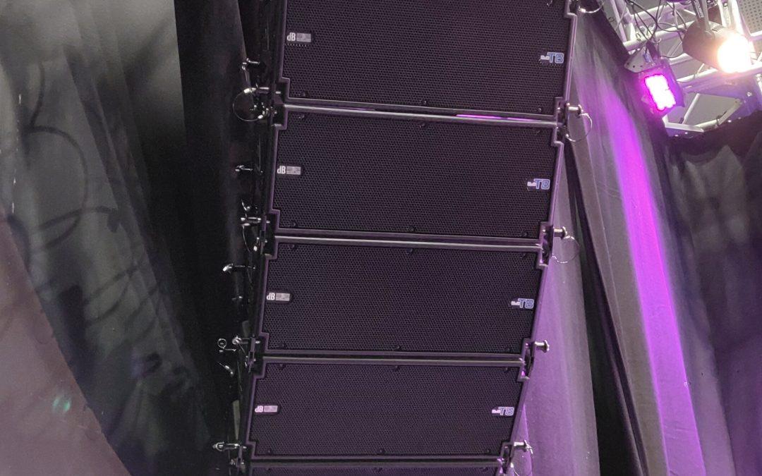 NEW EQUIPMENT – dB Technologies DVA T8 Line Array
